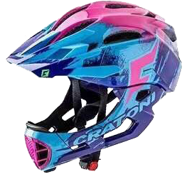 德國Cratoni Cratoni C-Maniac Pro Purple Blue Pink Glossy