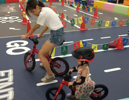 平衡車試玩 balance bike try out