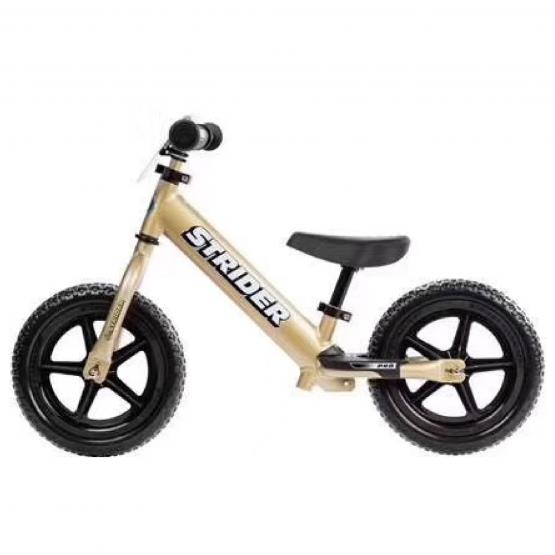 兒童平衡車 美國Strider 12Pro 鋁合金 金色-Golden