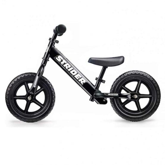 Strider Sport 12 兒童平衡車(黑色-Black)