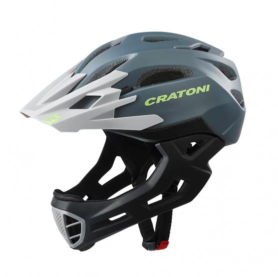 兒童全式頭盔 Cartoni C-Maniac 黑灰色