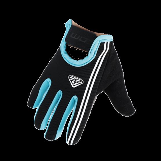 COM 兒童全指手套 kid glove GL01-black-blue