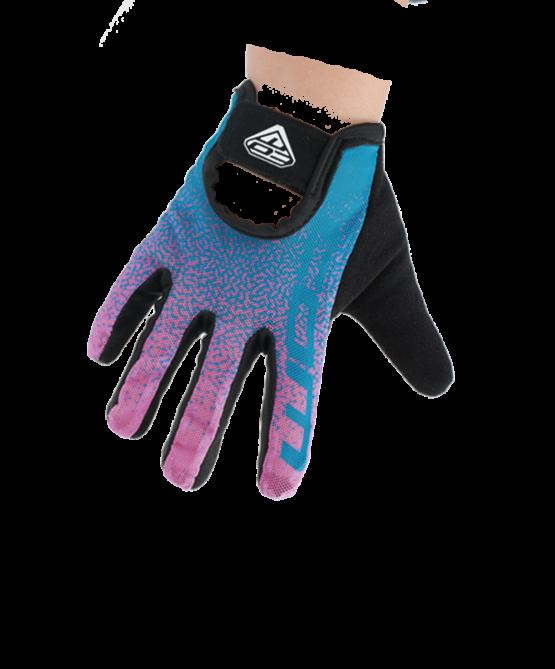 COM 兒童全指手套 kid glove GL01-purple-pink