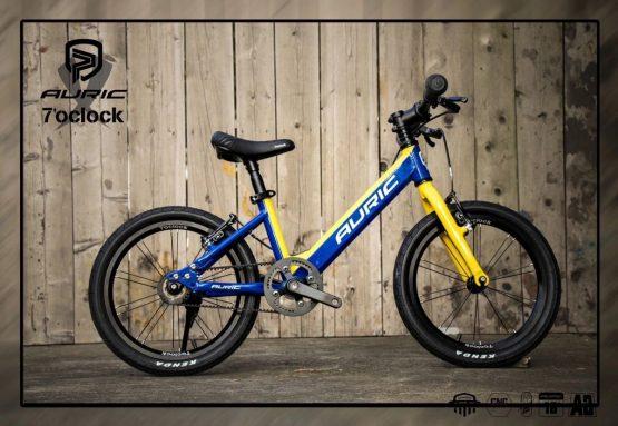 AURIC 兒童單車 16吋 黃藍色
